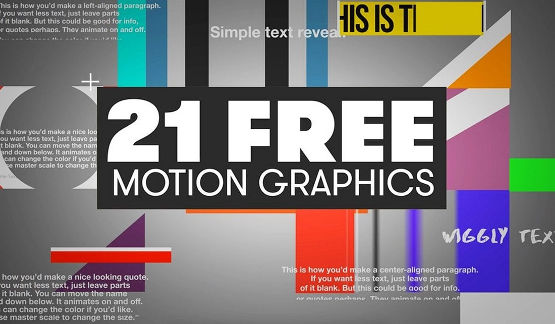 21 Free Mogrt Templates for Premiere Pro