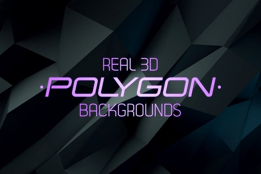 3D Polygon Backgrounds