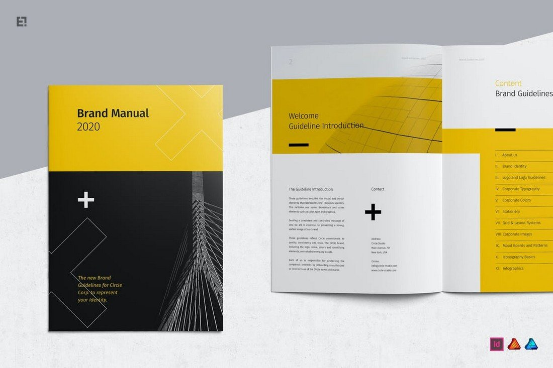 Brand Guidelines Affinity Publisher Template