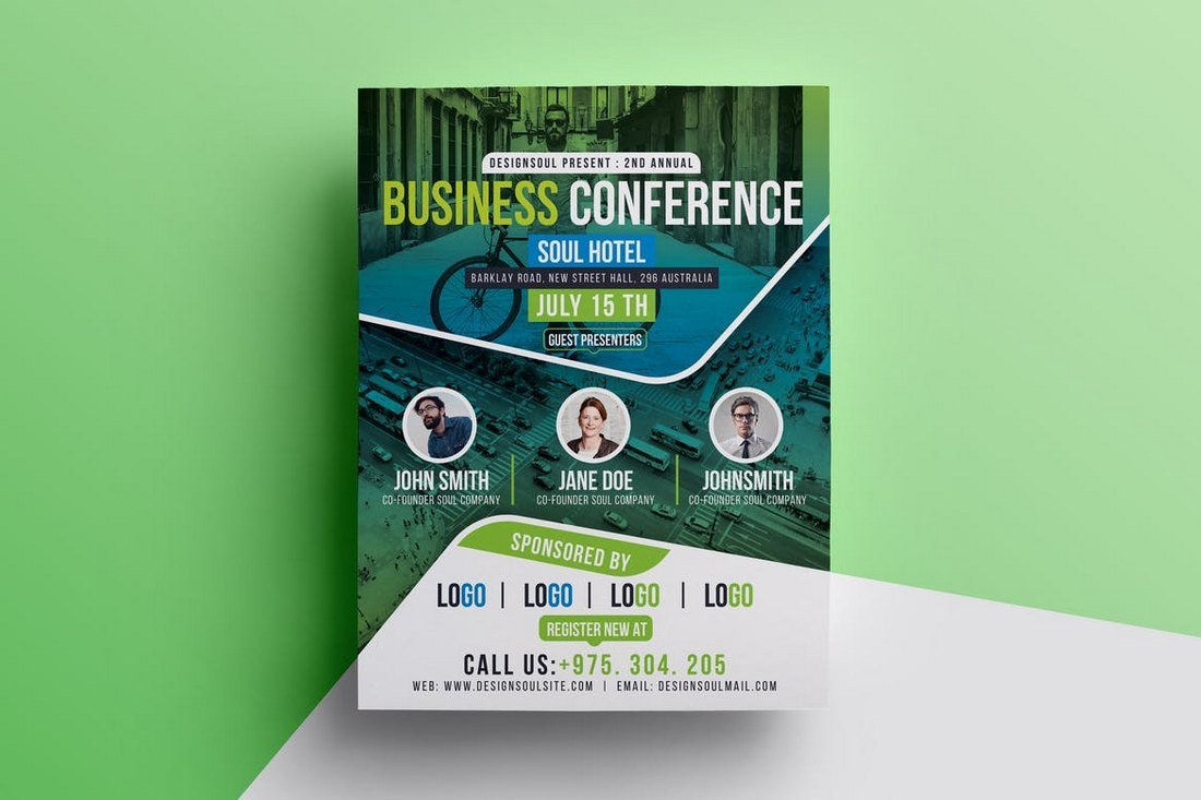 Business Conference Flyer Template