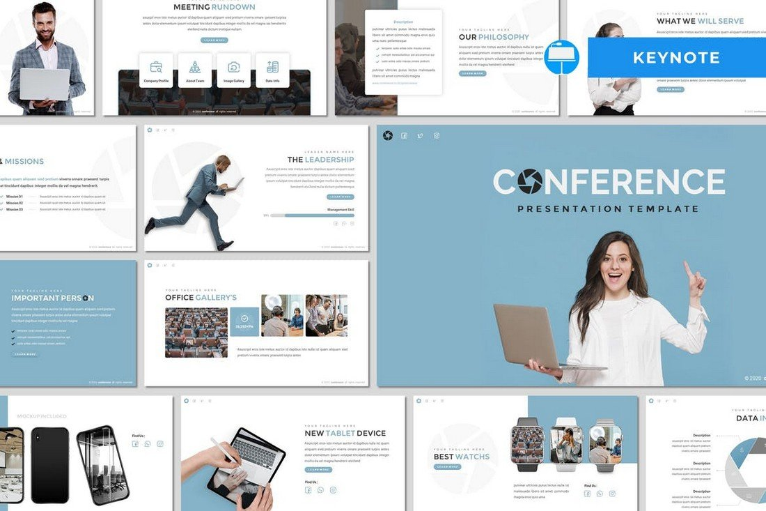 Conference - Simple Keynote Template