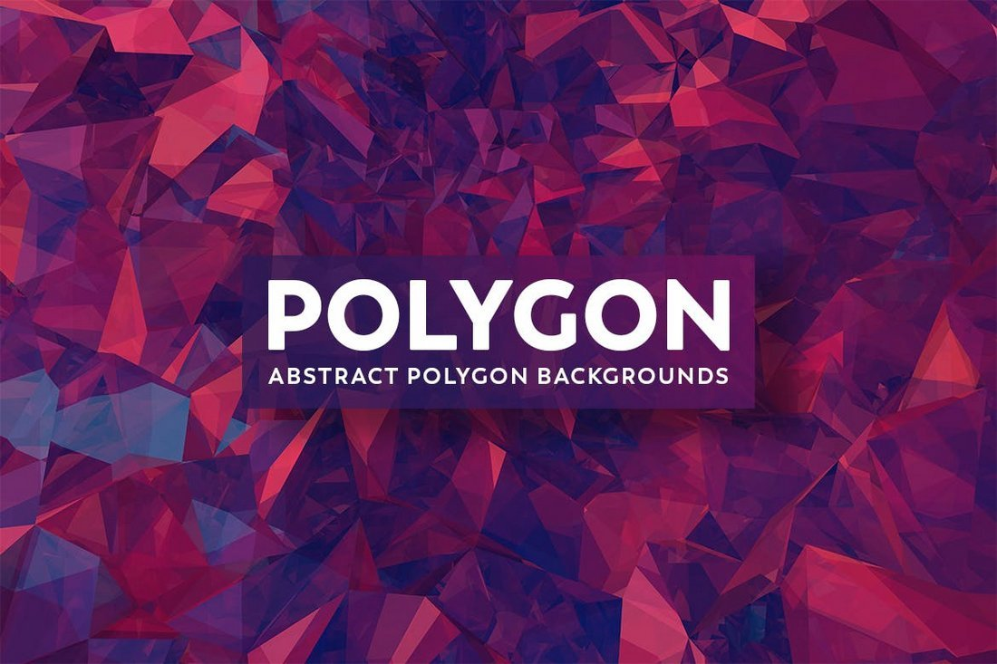Modern Abstract Polygon Backgrounds