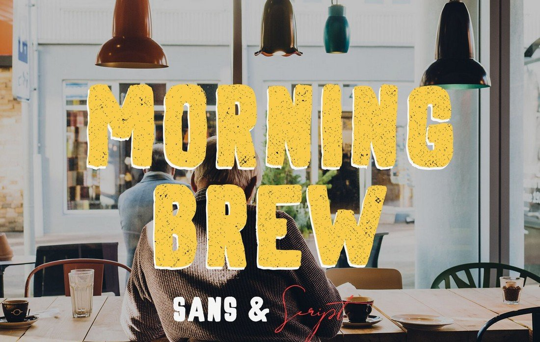Morning Brew - Free Font for Vlogs