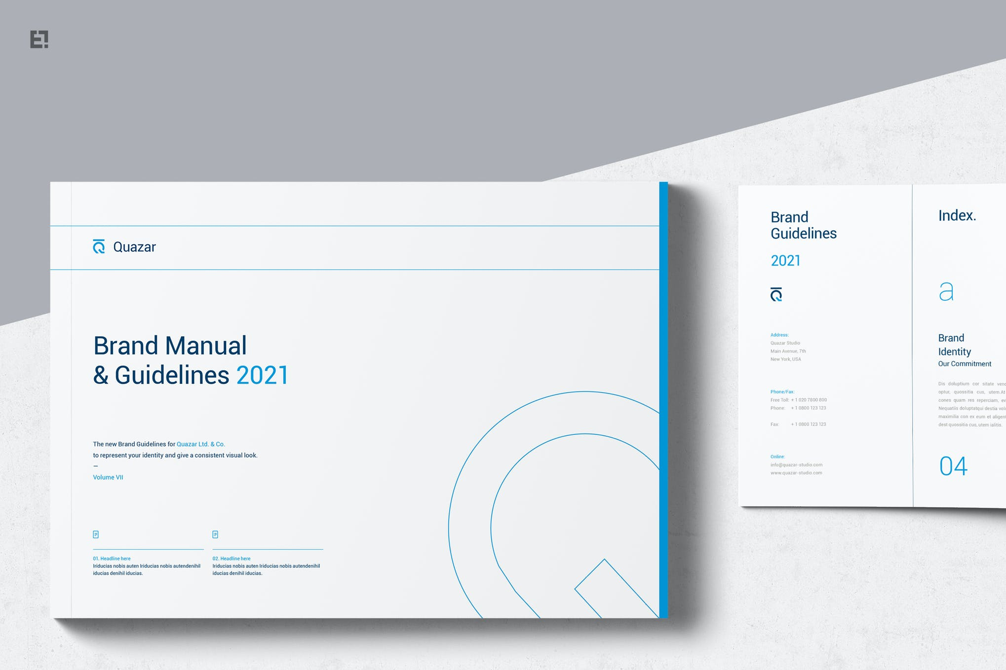 affinity publisher brand manual template